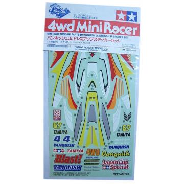 Adesivi per Mini 4WD Vanquish Jr