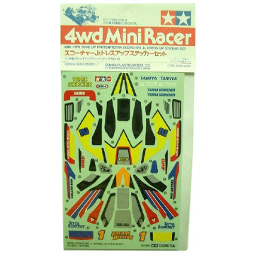 Adesivi per Mini 4WD JR Terra Scorcher