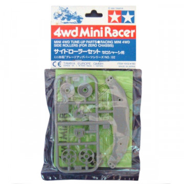 Roller Laterali per Mini 4WD Chassis Zero