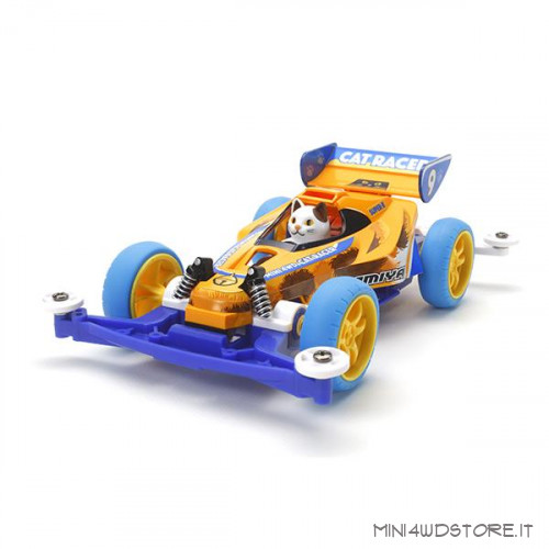 Mini 4Wd Cat Racer