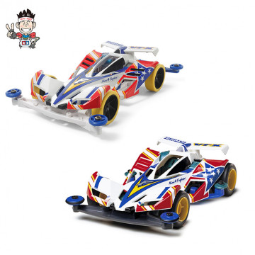 Set 2 Mini 4WD Fighter Magnum Collection 19410 e 95432