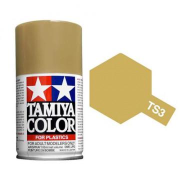 Vernice Spray Tamiya TS-3 Dark Yellow
