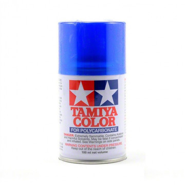 Vernice Spray Tamiya PS-38 Translucent Blue per Policarbonato