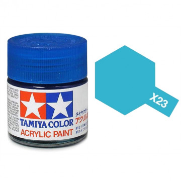 Vernice Acrilica Tamiya Mini X-23 Clear Blue