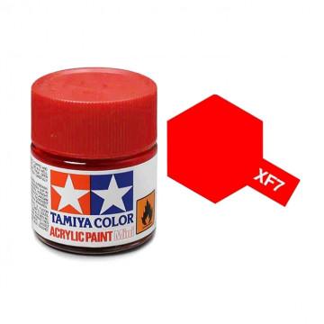 Vernice Acrilica Tamiya Mini XF-7 Flat Red
