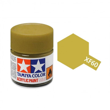 Vernice Acrilica Tamiya Mini XF-60 Dark Yellow