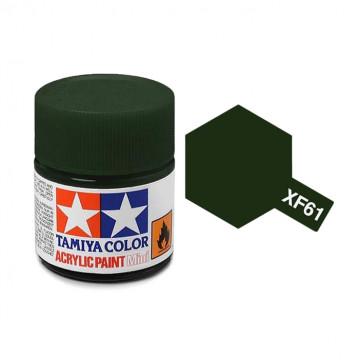 Vernice Acrilica Tamiya Mini XF-61 Dark Green