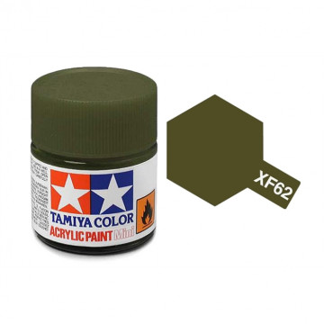 Vernice Acrilica Tamiya Mini XF-62 Olive Drab