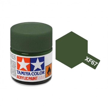 Vernice Acrilica Tamiya Mini XF-67 NATO Green