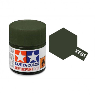 Vernice Acrilica Tamiya Mini XF-81 Dark Green 2RAF