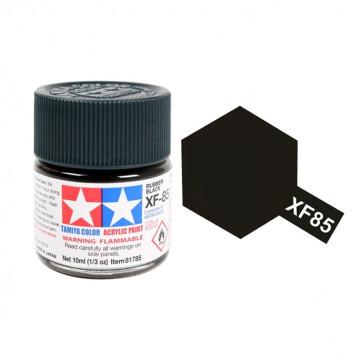 Vernice Acrilica Tamiya Mini XF-85 Rubber Black