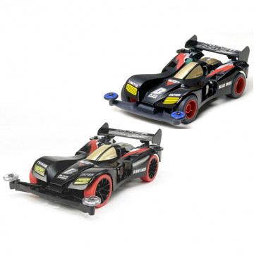 Set 2 Mini 4WD Black Saber Collection 18515 e 95451