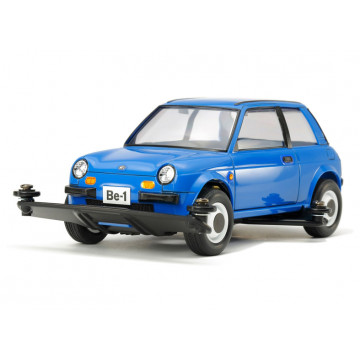 Mini 4WD Nissan Be-1 Blue Version con Telaio Type 3
