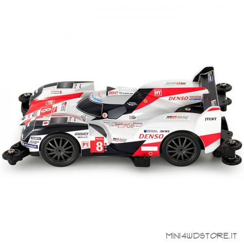 Mini 4WD Pro Toyota Gazoo Racing TS050 con Telaio MA