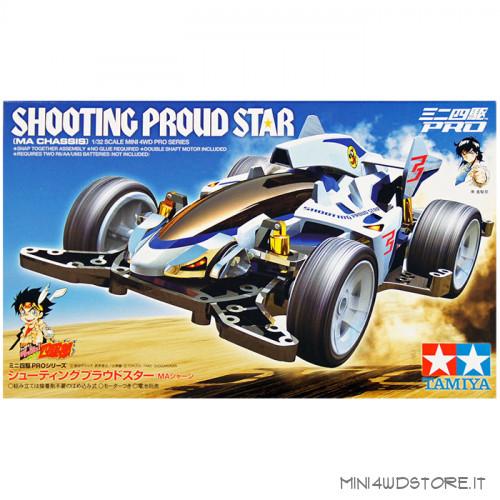 Mini 4WD Pro Shooting Proud Star con Telaio MA