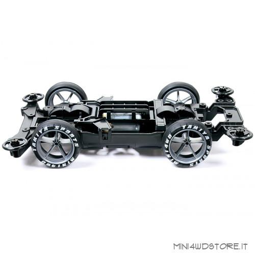 Mini 4WD Pro Thunder Shot Mk.II Clear Special con Telaio MS-L