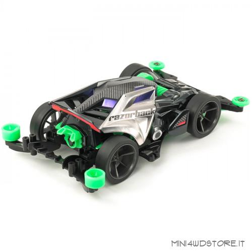 Mini 4WD Razorback con Telaio Fm-A