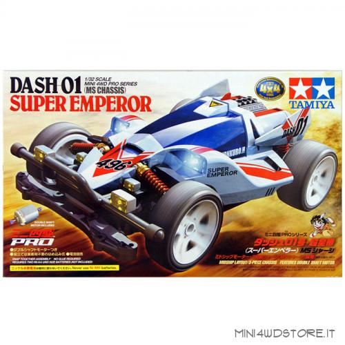 Mini 4WD Dash-01 Super Emperor con Telaio MS