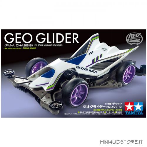 Mini 4WD Geo Glider con Telaio FM-A