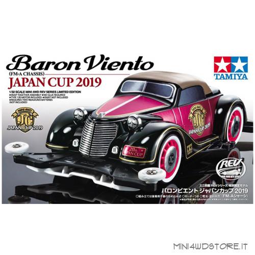 Mini 4WD Baron Viento Japan Cup 2019 con Telaio FM-A