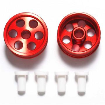 Cerchi Reversibili in Alluminio Anodizzato Rosso