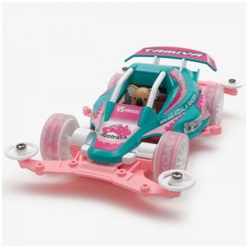 Mini 4WD Koala Racer Pastel Special con Telaio VS