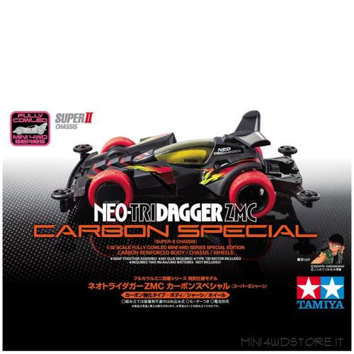 Mini 4WD Neo-Tridagger Zmc Carbon con Telaio Super II