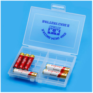 Porta Batterie Mini 4WD Battery Case 2