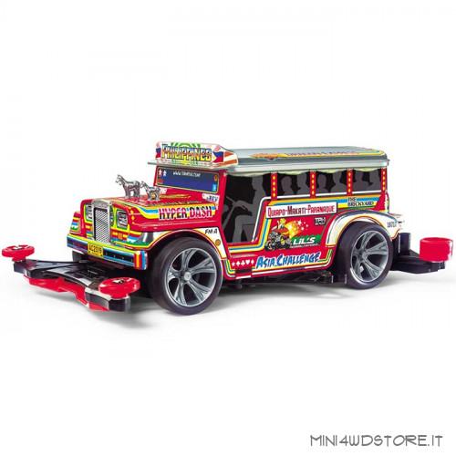 Mini 4WD Dyipne Filippine Bus con Telaio FM-A