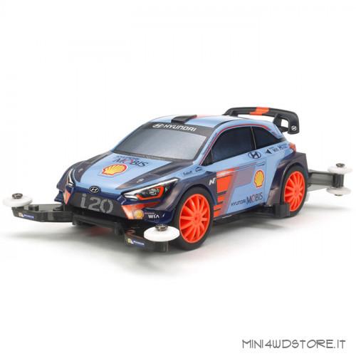 Mini 4WD Pro Hyundai i20 Coupe WRC con Telaio MA