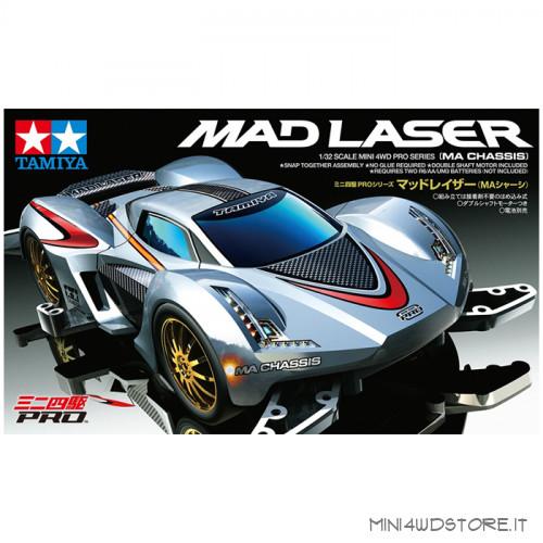 Mini 4WD Mad Laser con Telaio MA