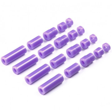 Set Spessori in Plastica Light Weight Viola