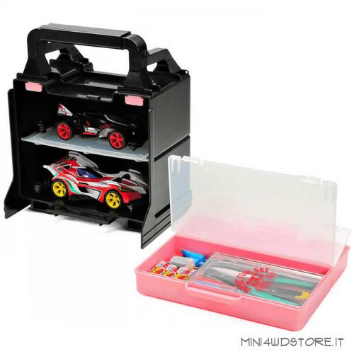 Cassetta Rosa Porta Attrezzi e Mini 4WD