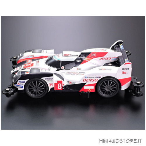 Mini 4WD Pro Toyota Gazoo Racing Hybrid con Telaio MA