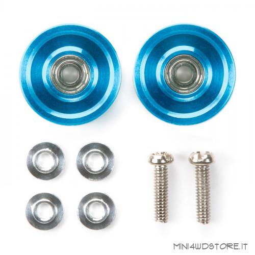Roller Ringless Blu da 13mm con Cuscinetti a Sfera