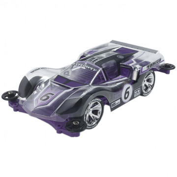 Mini 4WD Exflowly Purple Special Polyc. Body con Telaio MS